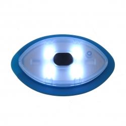 CAPPELLO INVERNALE CON TORCIA RICARICABILE USB NERO - La Bottega di ... f7c4fe2f6db2