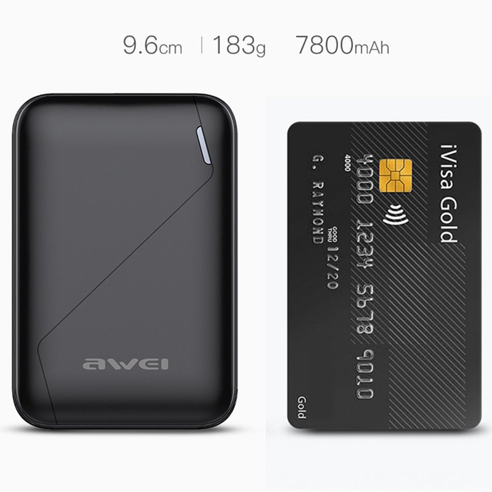 POWER BANK AWEI 7800 mAh P61K